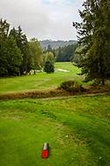 21-09-2015: Golf Resort Karlovy Vary in Karlovy Vary (Karlsbad), Tsjechië.<br /> Foto: Mooie hoogteverschillen
