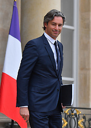 Managing director of Facebook France Laurent Solly leaves Elysee Palace, Paris, France on May 10, 2019. Photo by Christian Liewig/ABACAPRESS.COM