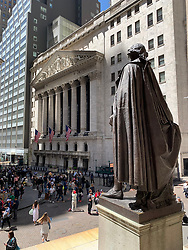 Wall Street in New York City