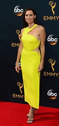 September 18, 2016 - Los Angeles, California, United States - Minnie Driver arrives at the 68th Annual Emmy Awards at the Microsoft Theater in Los Angeles, California on Sunday, September 18, 2016. (Credit Image: © Michael Owen Baker/Los Angeles Daily News via ZUMA Wire)