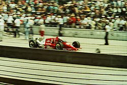Indianapolis Time Trials, May 1987<br /> #3 Danny Sullivan<br /> <br /> A scan from an old photo or slide from the collection of Alan and Becky Look dated 1987 and 1988.