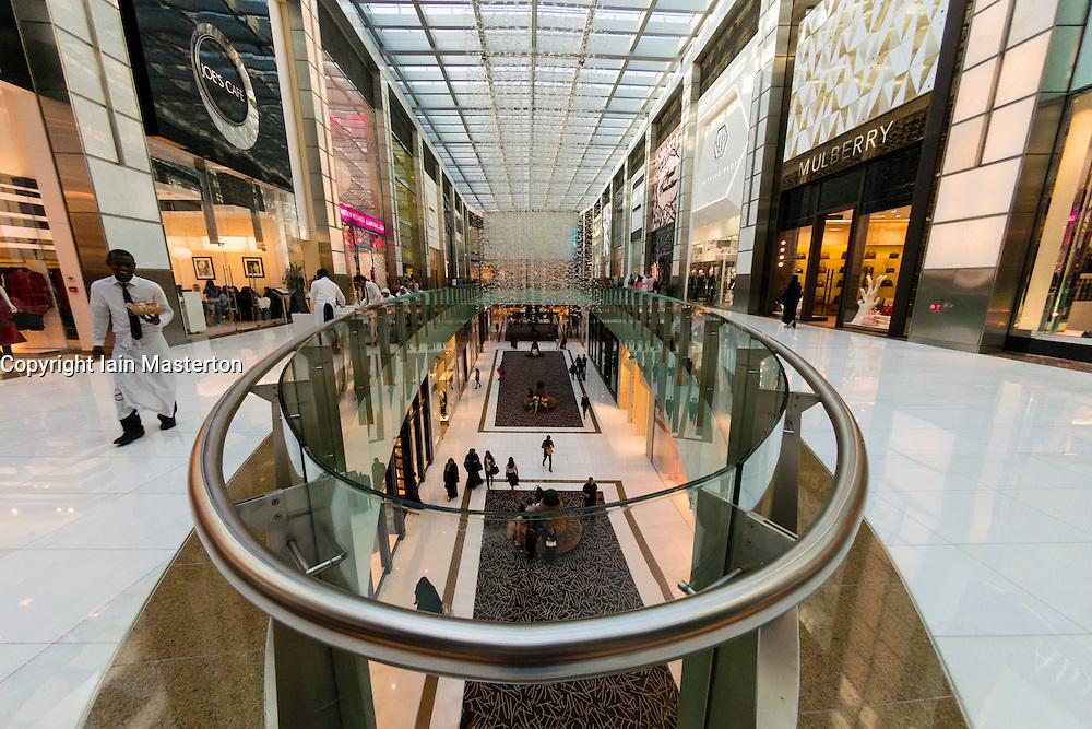 Interior of The  Dubai Mall in Dubai United Arab Emirates Interior of The  Dubai Mall in Dubai United Arab Emirates