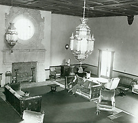 1932 Reception room at Hollywood Forever Cemetery