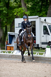 VASARYOVA Hana (CZE), David du Plessis-belliere<br /> Redefin - Pferdefestival 2019<br /> NÜRNBERGER Burg Pokal<br /> Qualifikation zur Finalqualifikation<br /> St-Georg Special: 7-9-jährige Pferde<br /> 25. Mai 2019<br /> © www.sportfotos-lafrentz.de/Stefan Lafrentz