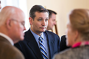 U.S. Senator Ted Cruz greets supporters after addressing the South Carolina National Security Action Summit on March 14, 2015 in West Columbia, South Carolina.
