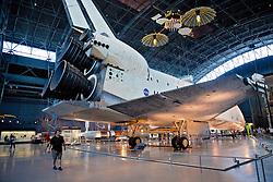 Space Shuttle Discovery, Air & Space Museum - Steven F. Udvar-Hazy Center