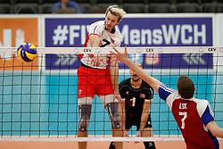20170525 NED: 2018 FIVB Volleyball World Championship qualification, Koog aan de Zaan<br />Lorenz Koraimann (7) of Austria<br />©2017-FotoHoogendoorn.nl / Pim Waslander
