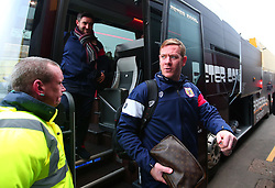 Bristol City assistant head coach Dean Holden arrives at Vicarage Road for the FA Cup third round tie against Watford  - Mandatory by-line: Robbie Stephenson/JMP - 06/01/2018 - FOOTBALL - Vicarage Road - Watford, England - Watford v Bristol City - Emirates FA Cup third round proper