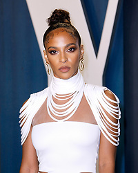 February 9, 2020, Beverly Hills, CA, USA: BEVERLY HILLS, CALIFORNIA - FEBRUARY 9: Megalyn Echikunwoke attends the 2020 Vanity Fair Oscar Party at Wallis Annenberg Center for the Performing Arts on February 9, 2020 in Beverly Hills, California. Photo: CraSH/imageSPACE (Credit Image: © Imagespace via ZUMA Wire)