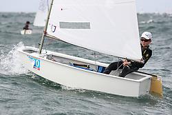 , Helgoland - 14. OPTI - IDJÜM - 23.07. - 06.08.2016, Opti A - GER 1009 - Steurer, Frederik - Augsburger Segler-Club