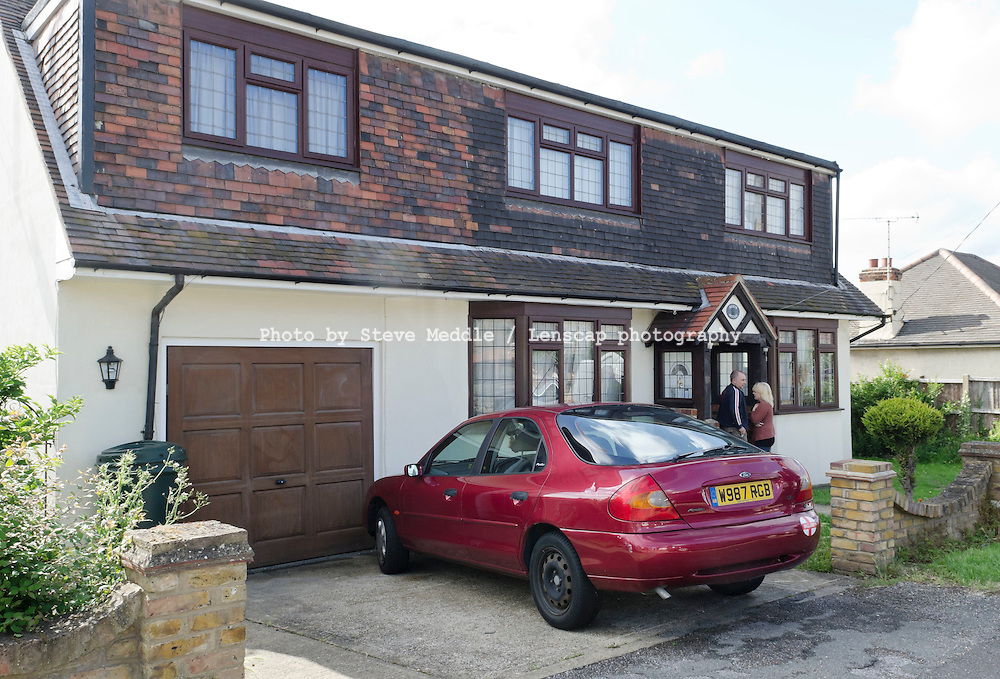 The house in Wickford Essex where Ryan Cleary aged 19 lived with his mother - 22 June 2011..He is thought to be a leader of LulzSec, a group claiming responsibility for hacking into Britain's Serious Organised Crime Agency and the US Senate.