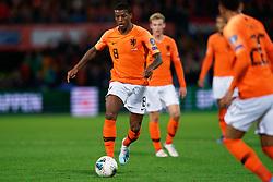 10-10-2019 NED: Netherlands - Northern Ireland, Rotterdam<br /> UEFA Qualifying round Group C match between Netherlands and Northern Ireland at De Kuip in Rotterdam / Georginio Wijnaldum #8 of the Netherlands