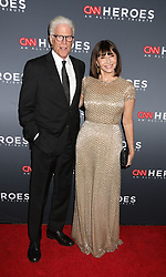 December 9, 2018 - New York City, New York, U.S. - TED DANSON and MARY STEENBURGEN attend the 12th Annual CNN Heroes: An All-Star Tribute held at the American Museum of National History. (Credit Image: © Nancy Kaszerman/ZUMA Wire)