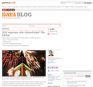 Guardian.co.uk - Fireworks over Big Ben - Sunday Feb 28th 2010