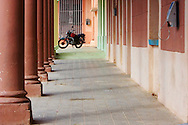 Motorcycle in Girara, Holguin, Cuba.