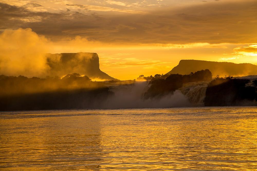 Canaima Lagoon at Sunrise, Venezuela