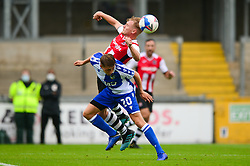 Jonah Ayunga of Bristol Rovers - Mandatory by-line: Dougie Allward/JMP - 15/08/2020 - FOOTBALL - Memorial Stadium - Bristol, England - Bristol Rovers v Exeter City - Pre-season friendly