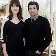 NLD/Amsterdam/20080520 - Patrick Dempsey en Michelle Monaghan bezoeken Nederland - Patrick Dempsey and Michelle Monaghan visit the Netherlands to promote their movie together