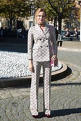 Diane Kruger arriving at Miu Miu fashion show during the fashion week in Paris, France on octobre 05, 2016. Photo by Nasser Berzane/ABACAPRESS.COM.