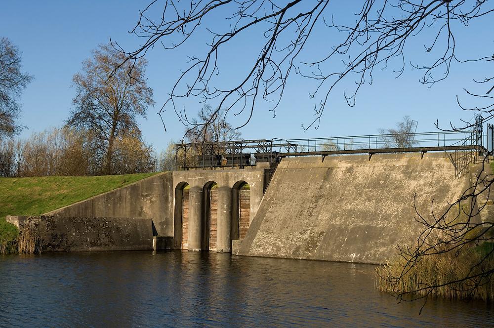 Nederland, Everdingen, 26 nov 2006.Fort Everdingen...Foto: (c) Michiel Wijnbergh