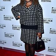 Ellen Thomas attend TriForce Short Festival, on 30 November 2019, at BFI Southbank, London, UK.