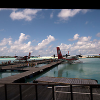 Seaplane dock, Male, Maldives