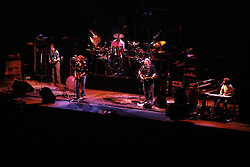 The Grateful Dead in Concert at the Brendan Bryne Arena, East Rutherford NJ, on April 1st 1988. View from front of stage, first level, offset stage left.