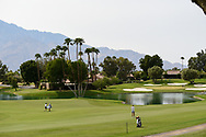 Carlota Ciganda (ESP) and Jessica Korda (USA) make their way down 6 during round 2 of the 2020 ANA Inspiration, Mission Hills C.C., Rancho Mirage, California, USA. 9/11/2020.<br /> Picture: Golffile | Ken Murray<br /> <br /> All photo usage must carry mandatory copyright credit (© Golffile | Ken Murray)