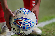 Charlton Athletic midfielder Josh Cullen (24) places the ball before taking a corner kick during the EFL Sky Bet League 1 second leg Play-Off match between Charlton Athletic and Doncaster Rovers at The Valley, London, England on 17 May 2019.