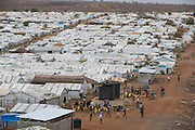 Mcc0075406 . Daily Telegraph<br /> <br /> DT Foreign<br /> <br /> <br /> <br /> POC 3 , the Protection of Civilian Camp inside the vast UN compound on the outskirts of Juba . Over 20,000 civilians who predominantly fled from conflict in the equatorial states of South Sudan . United Nation's agencies recently announced a famine in the war torn country .<br /> <br /> Juba 27 February 2017