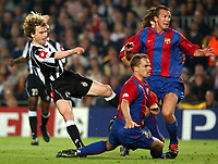 Barcelona v Juventus Champions League 22/04/03 1-2 (2-3 agg)<br />