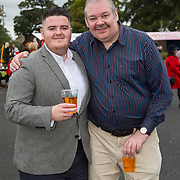 08.10.17.            <br /> Pictured at Limerick Racecourse for the  Keanes Most Stylish Lady competition were, John Gavin and Michael O'Donoghue. Picture: Alan Place