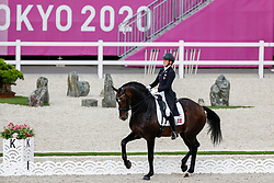 Merrald Nanna Skodborg, DEN, Zack, 121<br /> Olympic Games Tokyo 2021<br /> © Hippo Foto - Stefan Lafrentz<br /> 24/07/2021