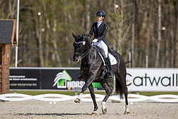 Poncelet Laureen, BEL, Sir Rubinus<br /> CDI 3* Opglabeek 2021<br /> © Hippo Foto - Dirk Caremans<br /> 24/04/2021