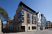 The Mahfouz Building, Littlegate Street. Pembroke College New Build on completion March 2013. Oxford, UK