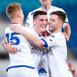 BRISBANE, AUSTRALIA - SEPTEMBER 20: Matthew Millar of South Melbourne celebrates scoring a goal during the Westfield FFA Cup Quarter Final match between Gold Coast City and South Melbourne on September 20, 2017 in Brisbane, Australia. (Photo by Gold Coast City FC / Patrick Kearney)