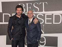 FrancescoScianna,Luca Dini  at the photocall of GQ Best Dressed Men 2019  Milan,Italy, 11 January 2019  (Credit Image: © Nick Zonna/Soevermedia via ZUMA Press)