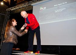 Tina Maze at Trophy ceremony during Ironman 70.3 Slovenian Istra 2019, on September 22, 2019 in Koper / Capodistria, Slovenia. Photo by Vid Ponikvar / Sportida