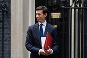 Rory Stewart, Secretary of State for International Development leaving 10 Downing Street following a weekly cabinet meeting on 25th June 2019 in London, United Kingdom.