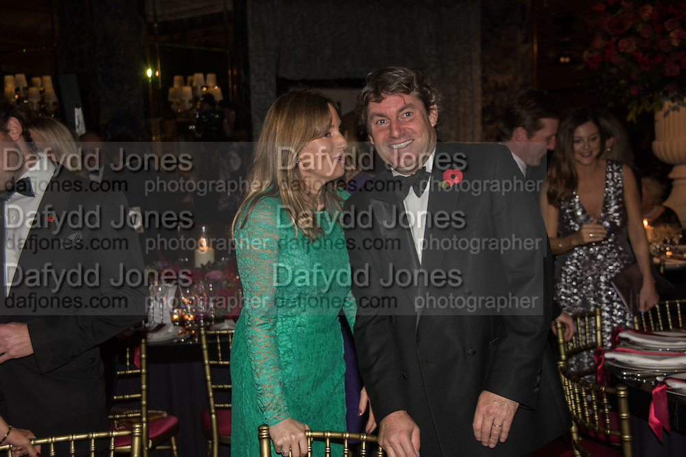 EMILY OPPENHEIMER; CHARLIE BROOKS, Cartier 25th Racing Awards, the Dorchester. Park Lane, London. 10 November 2015