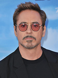 """Robert Downey Jr arrives at the """"Spider-Man: Homecoming"""" Los Angeles Premiere held at the TCL Chinese Theater in Hollywood, CA on Wednesday, June 268, 2017.  (Photo By Sthanlee B. Mirador) *** Please Use Credit from Credit Field ***"""