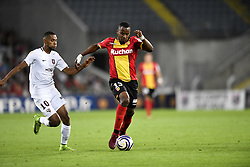 August 28, 2018 - Lens, France - 13 KEVIN FORTUNE (LENS) - 10 MARVIN GAKPA  (Credit Image: © Panoramic via ZUMA Press)