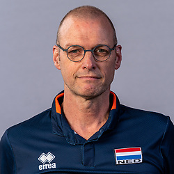 Photoshoot selection of Orange men's volleybal team season 2021on may 11, 2021 in Arnhem, Netherlands (Photo by RHF Agency/Ronald Hoogendoorn)