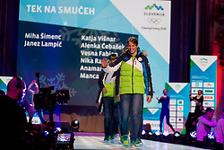 Vesna Fabian during the outfitting of the Slovenian Olympic Team for PyeongChang 2018, on January 29, 2018 in GH Union, Ljubljana, Slovenia. Photo by Urban Urbanc / Sportida
