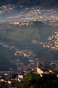 Ouro Preto_MG, Brasil...Vista panoramica de Ouro Preto...The panoramic view of Ouro Preto...Foto: LEO DRUMOND / NITRO.