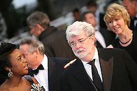 Director George Lucas at the Cosmopolis gala screening at the 65th Cannes Film Festival France. Cosmopolis is directed by David Cronenberg and based on the book by writer Don Dellilo.  Friday 25th May 2012 in Cannes Film Festival, France.