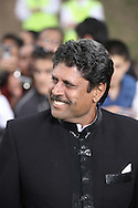 Former Indian cricket captain Kapil Dev arriving at the International Indian Film Academy Awards (IIFA) ceremony at the Hallam Arena in Sheffield for the annual IIFA awards. The awards were known as the 'Bollywood Oscars' and ran from 7-10th June. They were watched by an estimated global television audience 500 million people.