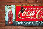 Old sign in Rosalia, Washington.