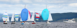 The Silvers Marine Scottish Series 2014, organised by the  Clyde Cruising Club,  celebrates it's 40th anniversary.<br /> Day 1, Sonata Fleet with Trader Lady<br /> <br /> Racing on Loch Fyne from 23rd-26th May 2014<br /> <br /> Credit : Marc Turner / PFM
