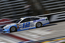 November 2, 2018 - Ft. Worth, Texas, United States of America - Ryan Blaney (12) takes to the track to practice for the AAA Texas 500 at Texas Motor Speedway in Ft. Worth, Texas. (Credit Image: © Justin R. Noe Asp Inc/ASP via ZUMA Wire)